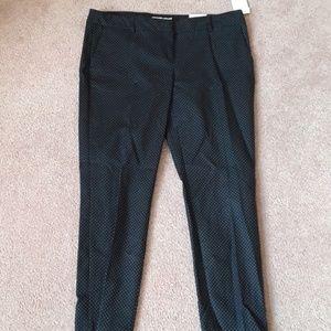 Ankle Length Navy Polka Dot Dress Pants ✨NWT✨